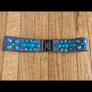 Beaded waist belt